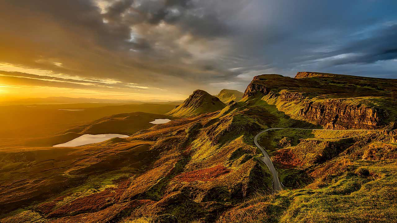 visit beautiful scotland - hire a campervan