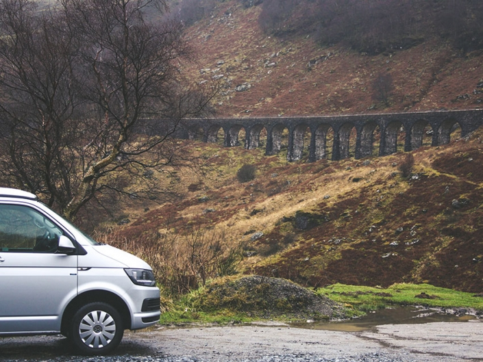Campervan hire - visit scotland