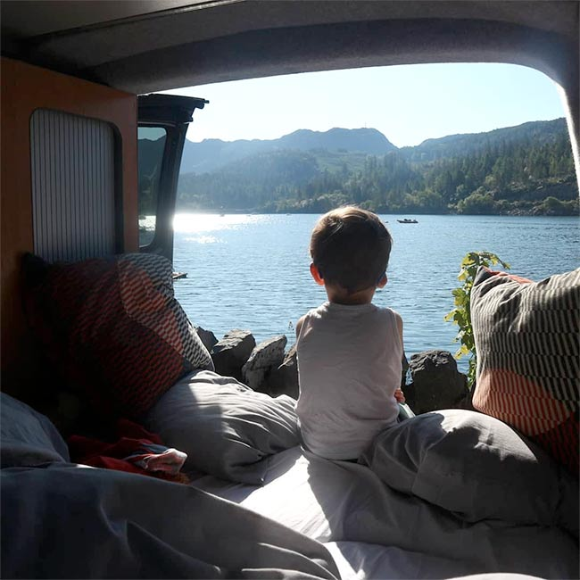 Camper van hire Scotland