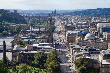 Scotland in August