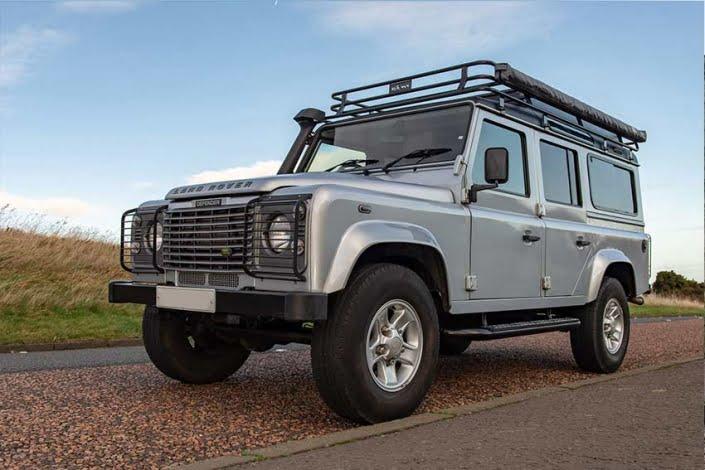 Land Rover Camping Scotland
