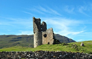 Ardvreck Castle Ullapool - Suggested campervan Road trip