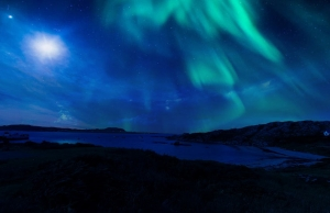 See the northern lights in Scotland by campervan
