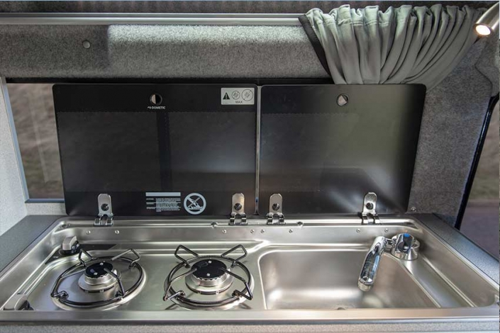 Land Rover Camping Cooker