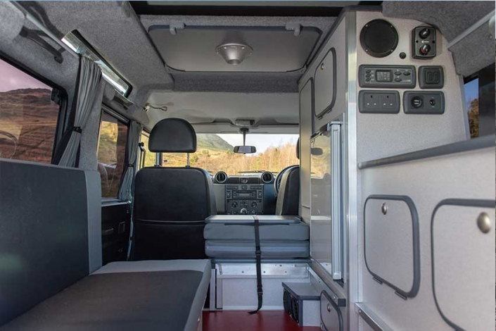 Land Rover Camping Hire Scotland