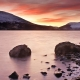 Loch Earn campervan camping scotland
