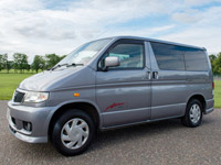 Mazda Bongo campervan hire Scotland