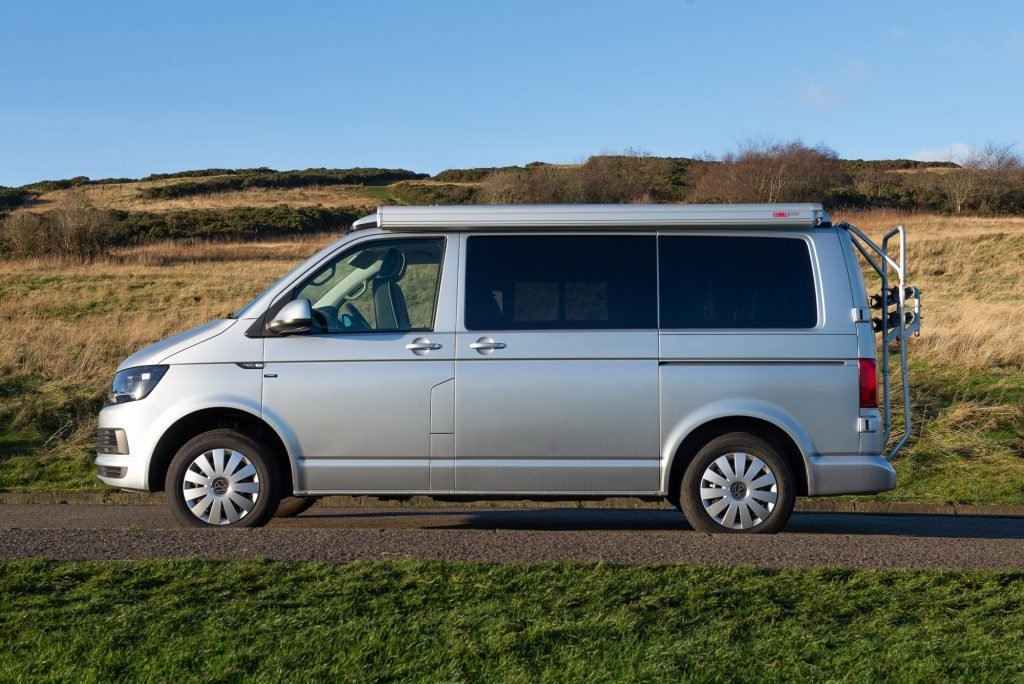 Ruby vw campervan hire scotland