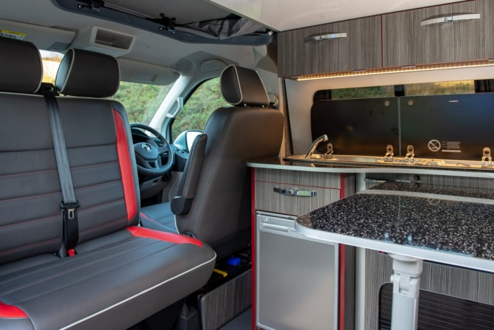 volkswagen transporter internal shot