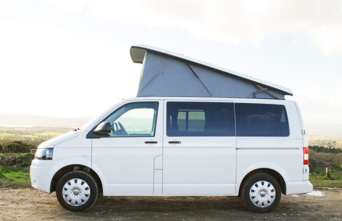 vw campervan for hire edinburgh