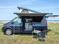 VW Transporter Campervan Hire Scotland