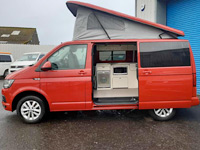 automatic campervan hire scotland