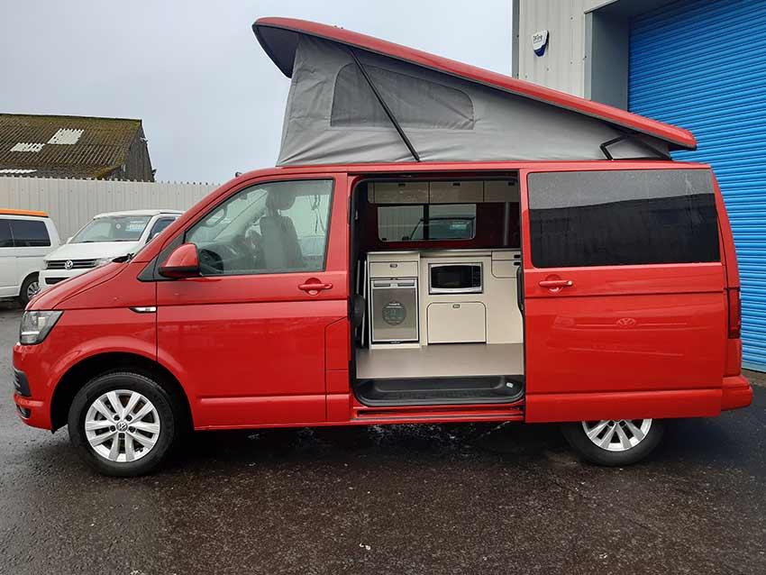 Automatic campervan hire Scotland