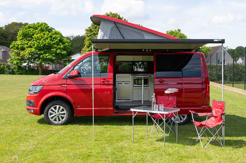 VW automatic campervan hire